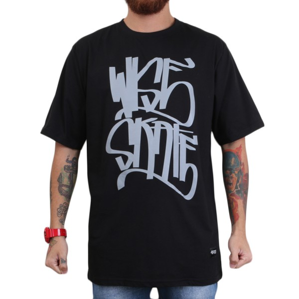 Camiseta Wise Tag Preto