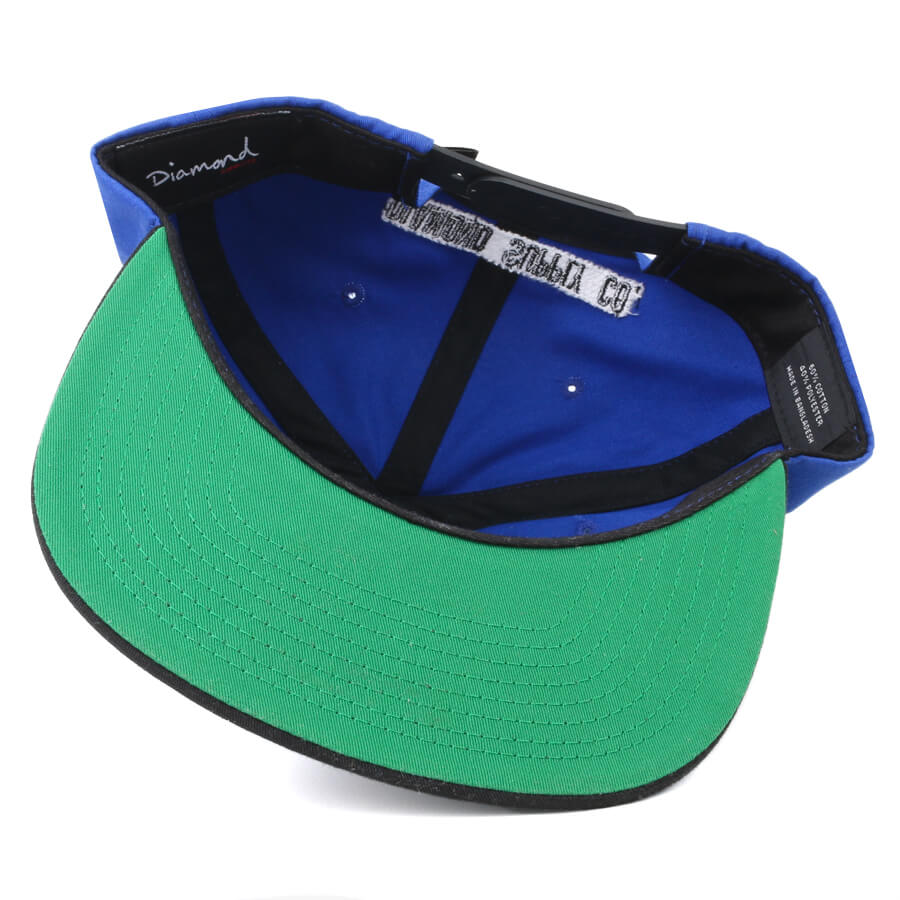 Boné Diamond Supply Co Snapback Life Azul