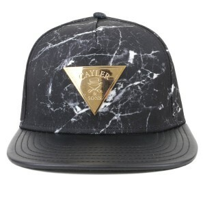 Boné Cayler And Sons Snapback Marble Preto