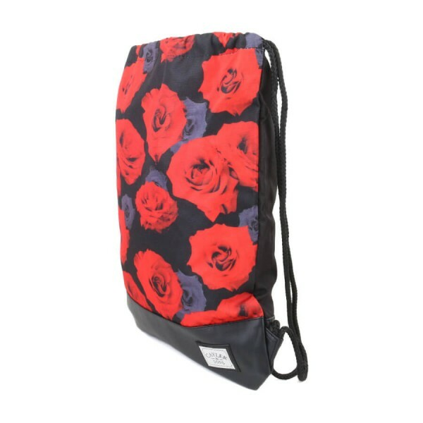 Sacola Cayler and Sons Roses Gym Preto/Floral