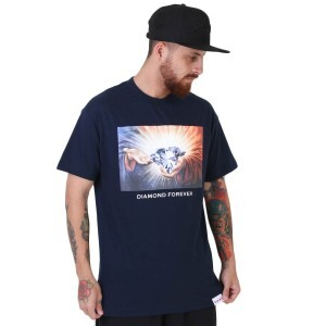 Camiseta Diamond Supply Co Forever 16 Azul Marinho