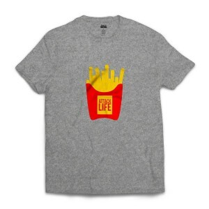 Camiseta BSC French Fries Cinza