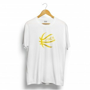 Camiseta Attack Life Basketball Branco