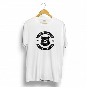 Camiseta Attack Life Bear Branco