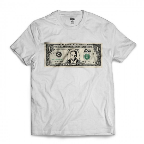 Camiseta Attack Life Jay-Z Dollar Branco