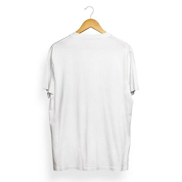 Camiseta Skill Head Civil Armado Branco