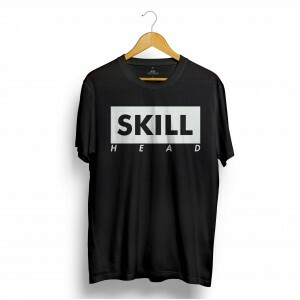 Camiseta Skill Head Bloco Preto