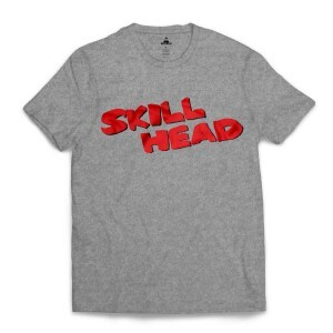 Camiseta Skill Head Sin City Cinza