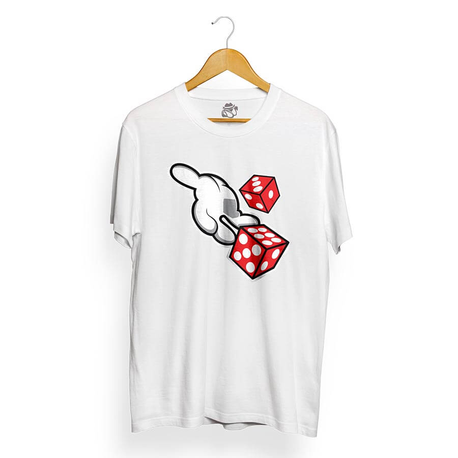 Camiseta BSC Roll The Dice Branco