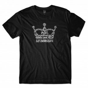 Camiseta Los Fuckers Crown Preto
