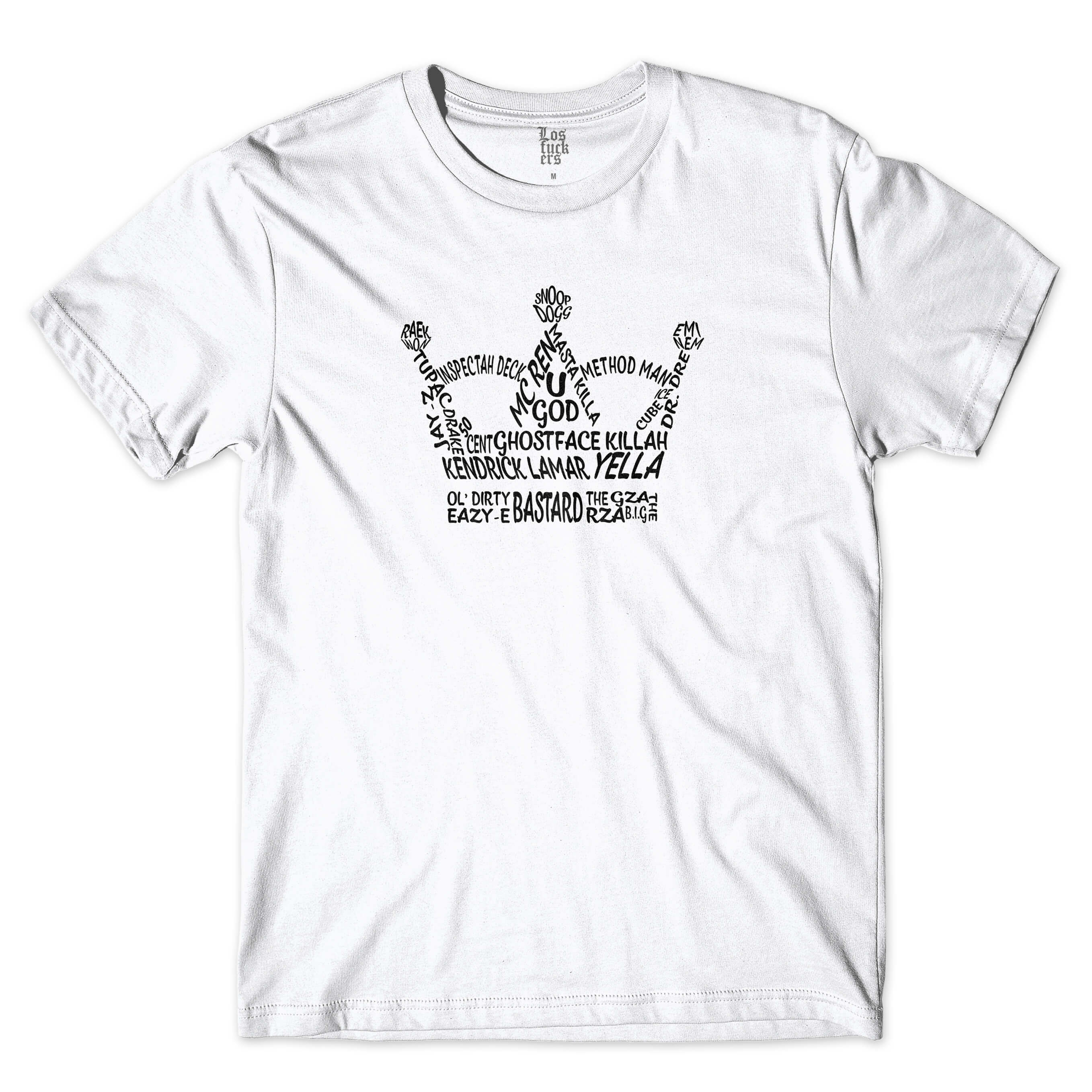 Camiseta Los Fuckers Crown Branco