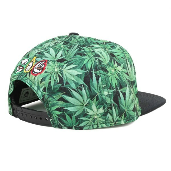 Boné Cayler And Sons Snapback Roll Light Smoke Verde/Preto