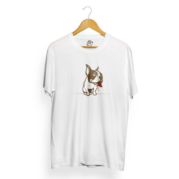Camiseta BSC Bulldog French Branco