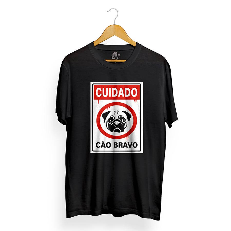 Camiseta BSC Caution Preto