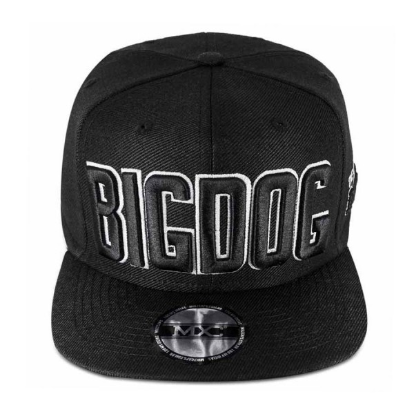 Boné Multcaps MXC Snapback Big Dog Preto
