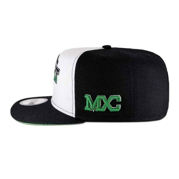 Boné Multcaps MXC Snapback High Quality Branco/Preto