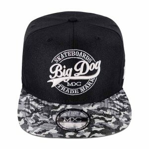 Boné Multcaps MXC Snapback Big Dog Skateboards Preto