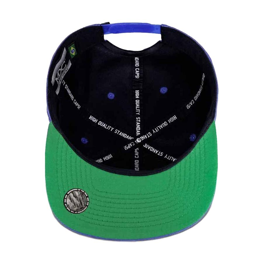 Boné Multcaps MXC Snapback Royal Blue SK8 Azul Royal
