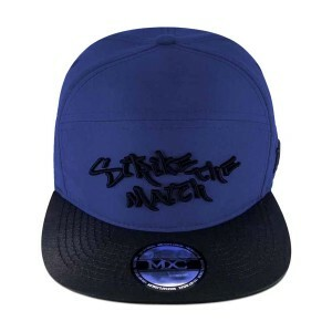 Boné Multcaps MXC Six Panel Strapback Strike The Match Azul Royal