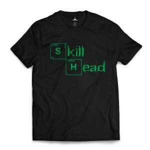 Camiseta Skill Head Breaking Bad Preto