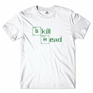 Camiseta Rege Breaking Bad Branco