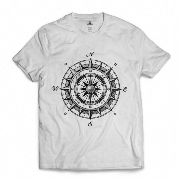 Camiseta Skill Head Wind Rose Branco