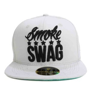 Boné Skill Head x Mr Thug Snapback Smoke Swag Five Stars Cinza