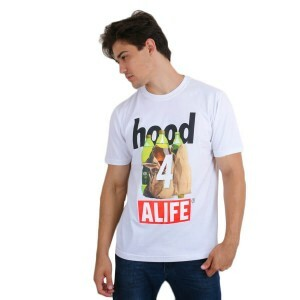 Camiseta Alife New York Hood For Life Branco