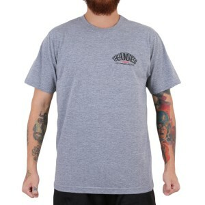 Camiseta The Hundreds Chapter Cinza Mescla