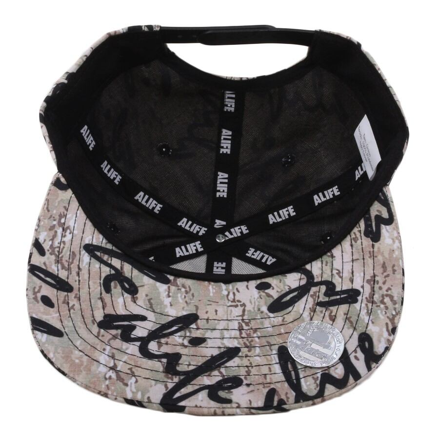 Boné Alife New York Snapback Multicam Allover Camo