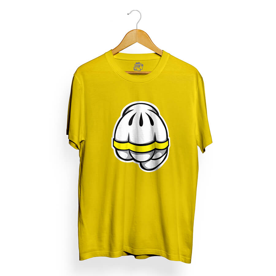 Camiseta BSC Punch English Amarelo