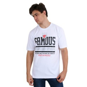 Camiseta Famous Street Know Ledge Branco