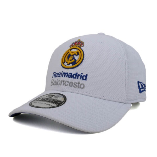 Boné New Era 39Thirty FReal Madrid Club de Fútbol Branco