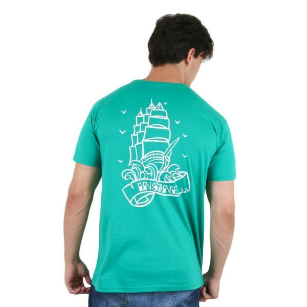 Camiseta Insane 10 Lighthouse Verde