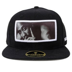 Boné Skill Head Snapback All Eyez On Me Preto