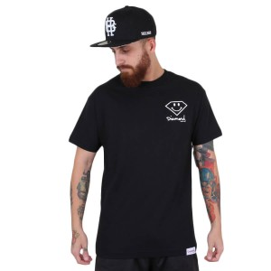 Camiseta Diamond Supply Co Smile Preto
