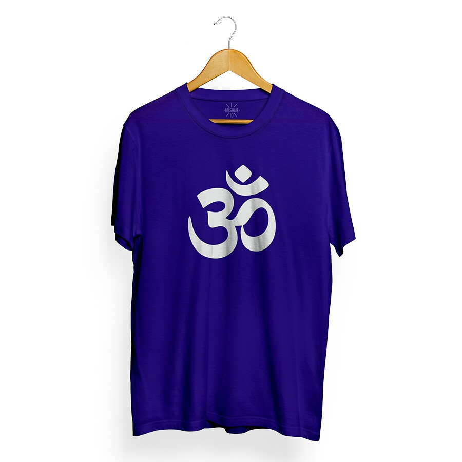 Camiseta Insane 10 Hinduism Azul Royal