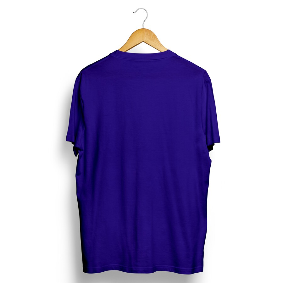 Camiseta Insane 10 Sleeping Emoji Azul Royal