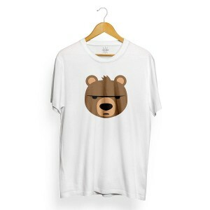 Camiseta Insane 10 Bear Emoji Branco