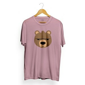 Camiseta Insane 10 Bear Emoji Rosa