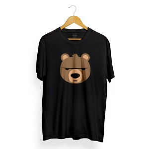 Camiseta Insane 10 Bear Emoji Preto