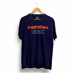 Camiseta Los Fuckers California Republic Azul Marinho