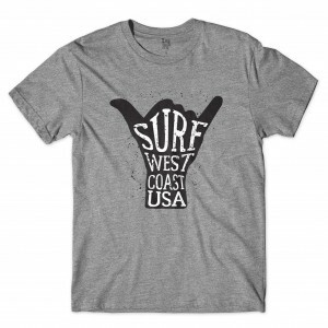 Camiseta Los Fuckers West Coast Cinza