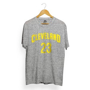 Camiseta BSC Cleveland 23 Cinza