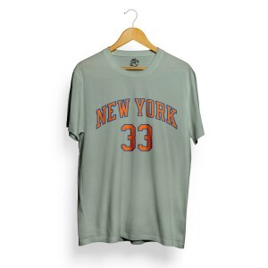 Camiseta BSC New York 33 Cinza Concreto