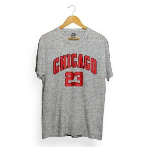 Camiseta BSC Chicago 23 Cinza