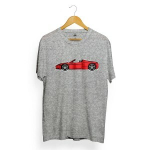 Camiseta Skill Head Car Cinza