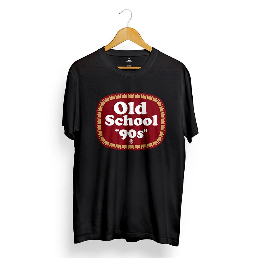 Camiseta Skill Head Old School 90s Preto