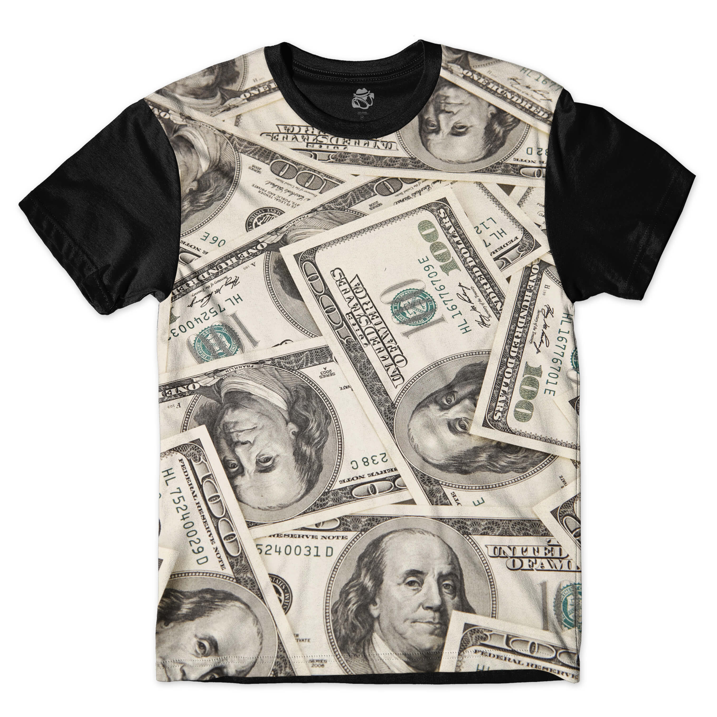 Camiseta BSC Make Money Sublimada Preto