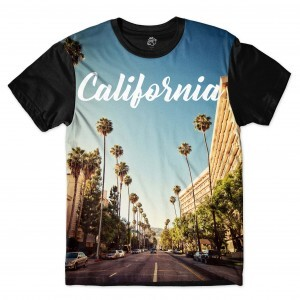 Camiseta BSC California Sublimada Preto